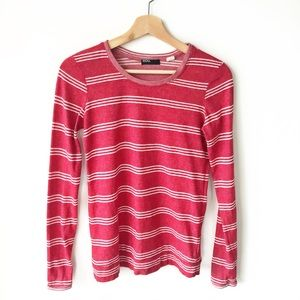 (3/$15) UO BDG • crewneck striped long sleeve